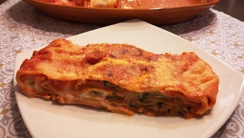 Lasagne prosciutto e zucchine: 31/01