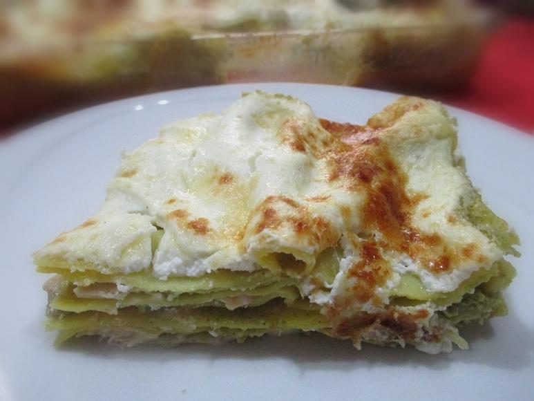 Lasagne al salmone in crema di broccoli e ricotta: 01/01