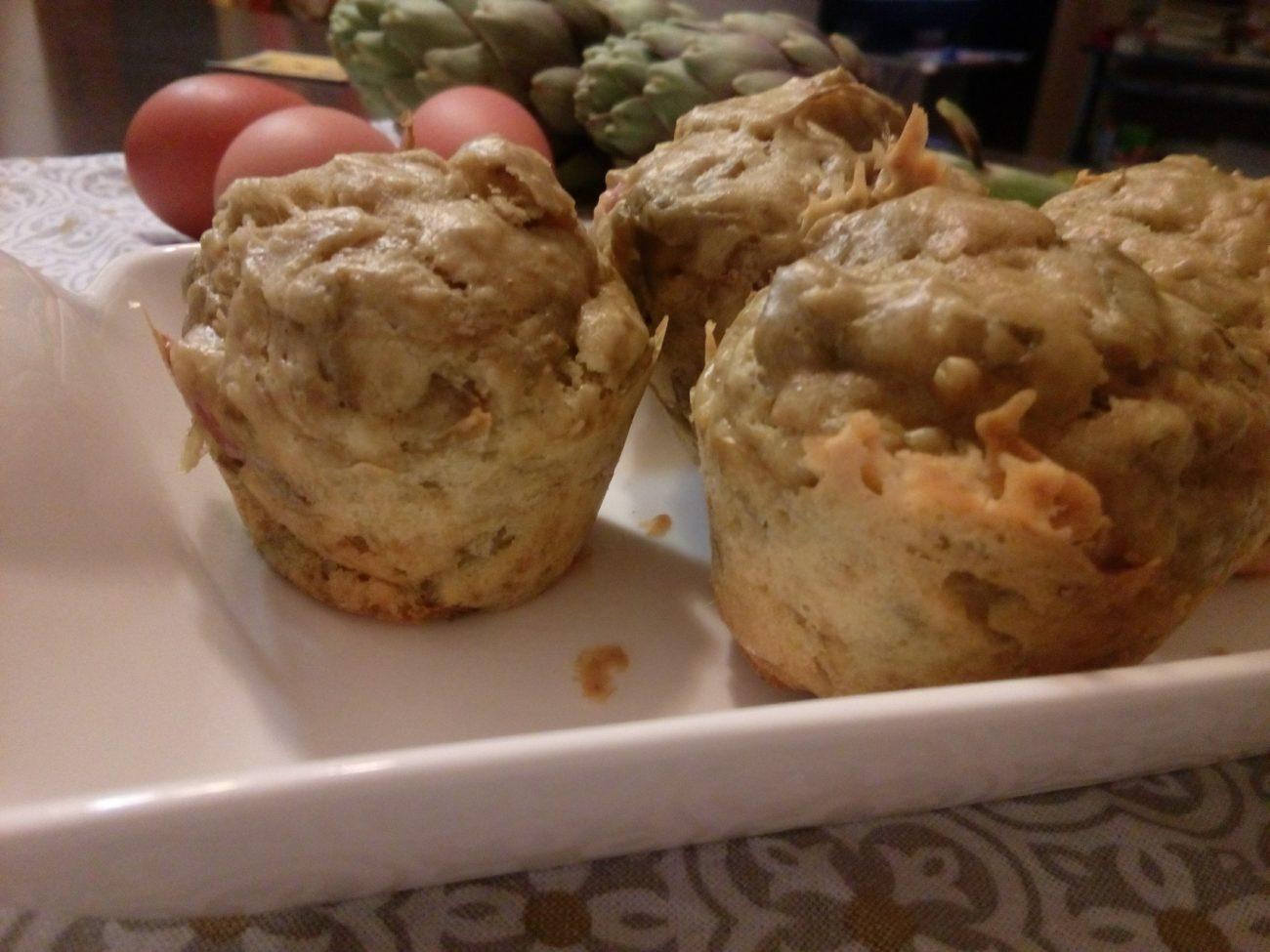 Menù di pasqua: Muffin ai carciofi