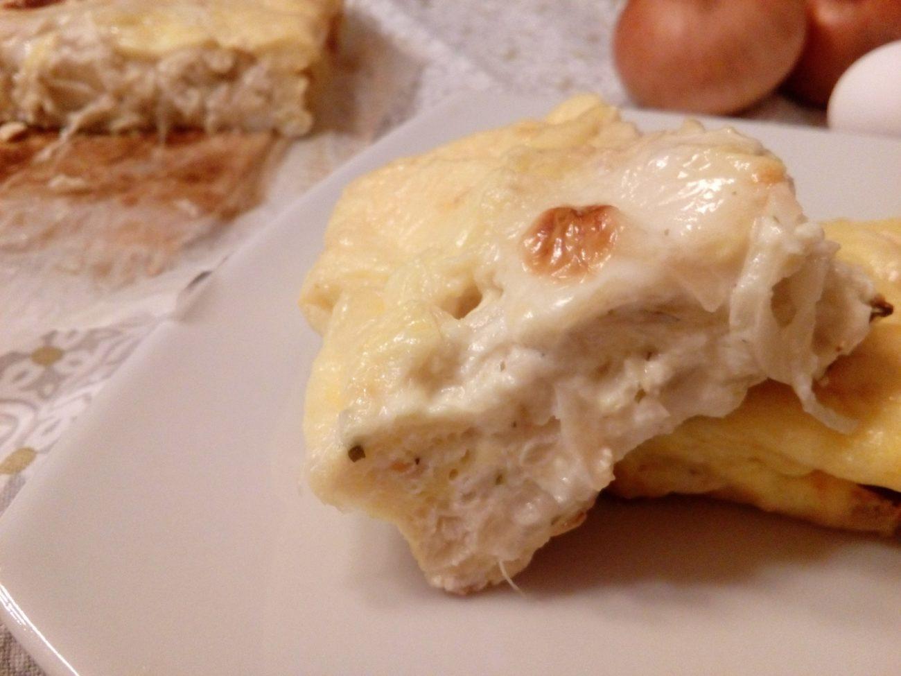 Soufflè di cipolle