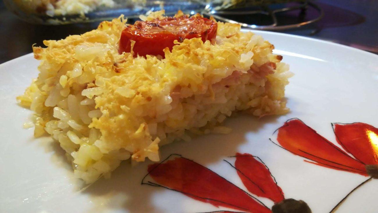 Budino di riso ai formaggi