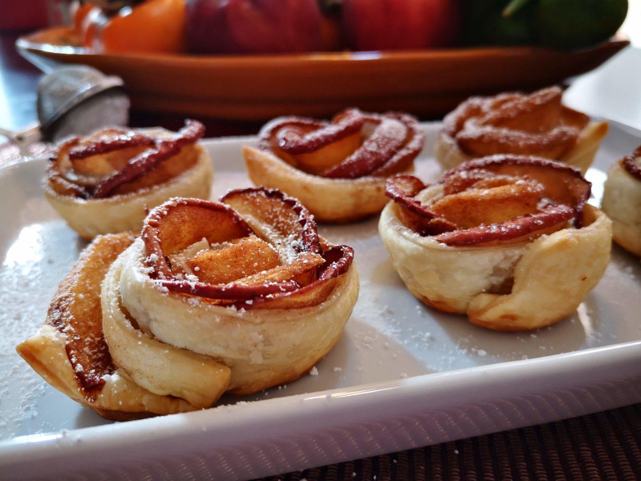Roselline di mela: ricetta di Natale