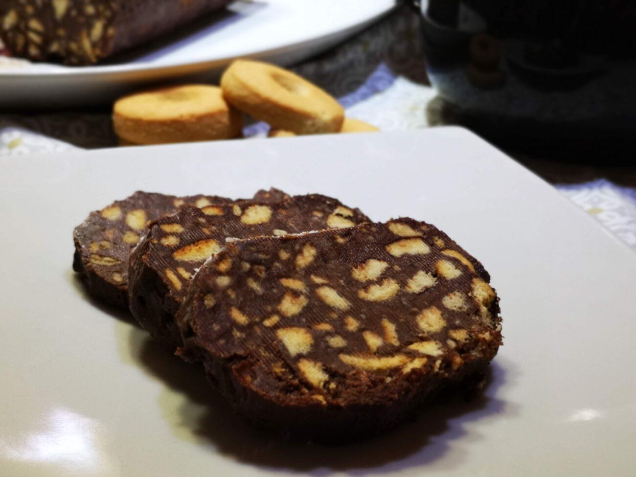 Salame Turco o salame al cioccolato rivisitato