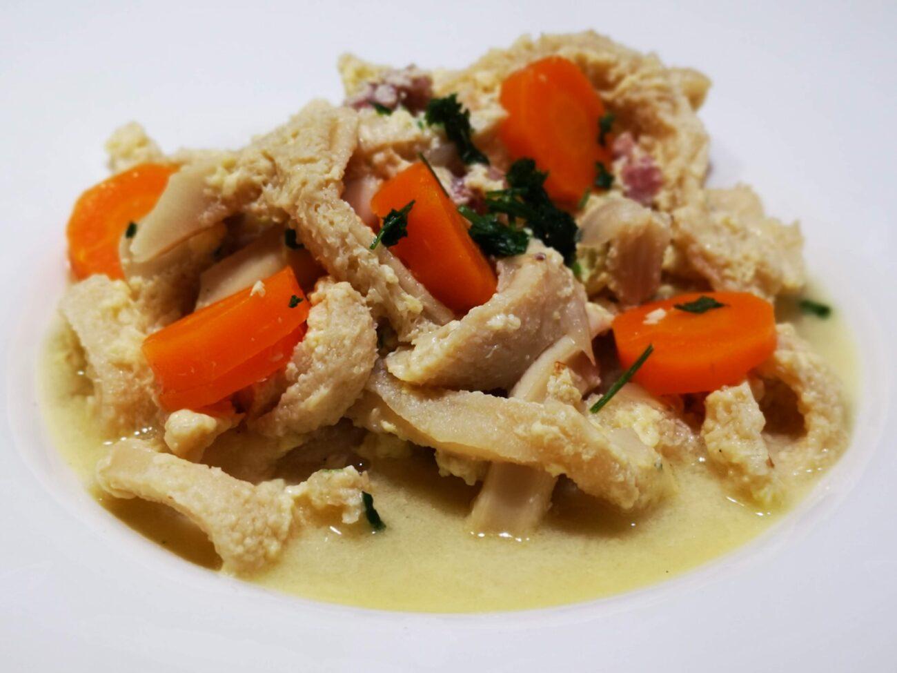 Trippa al parmigiano