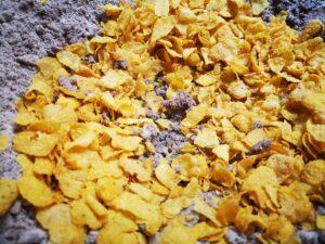 versate i corn flakes