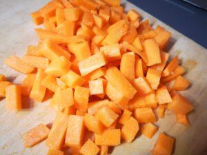 a stessa cosa con le carote
