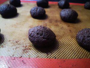 Biscotti teneri al cacao e Rum da infornare