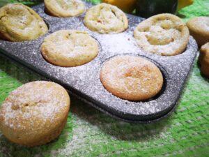 Tortine  di avocado mandorle e limone
