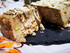 Lingotto al pistacchio e mandorle